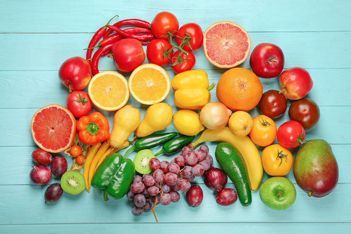 Dieta vegetariana, un arcobaleno di salute