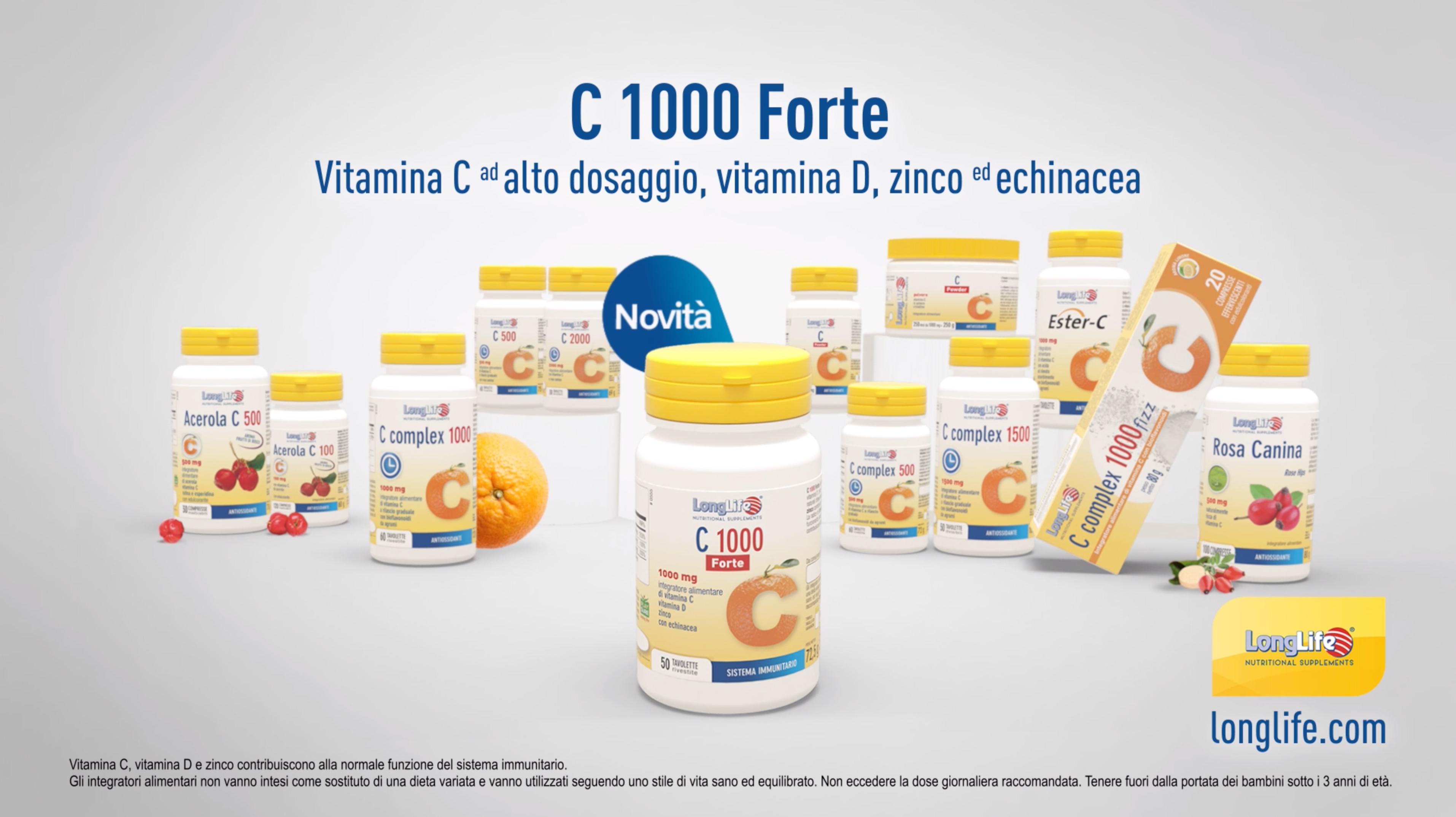 """C 1000 Forte - Spot 15"""" - 2020"""