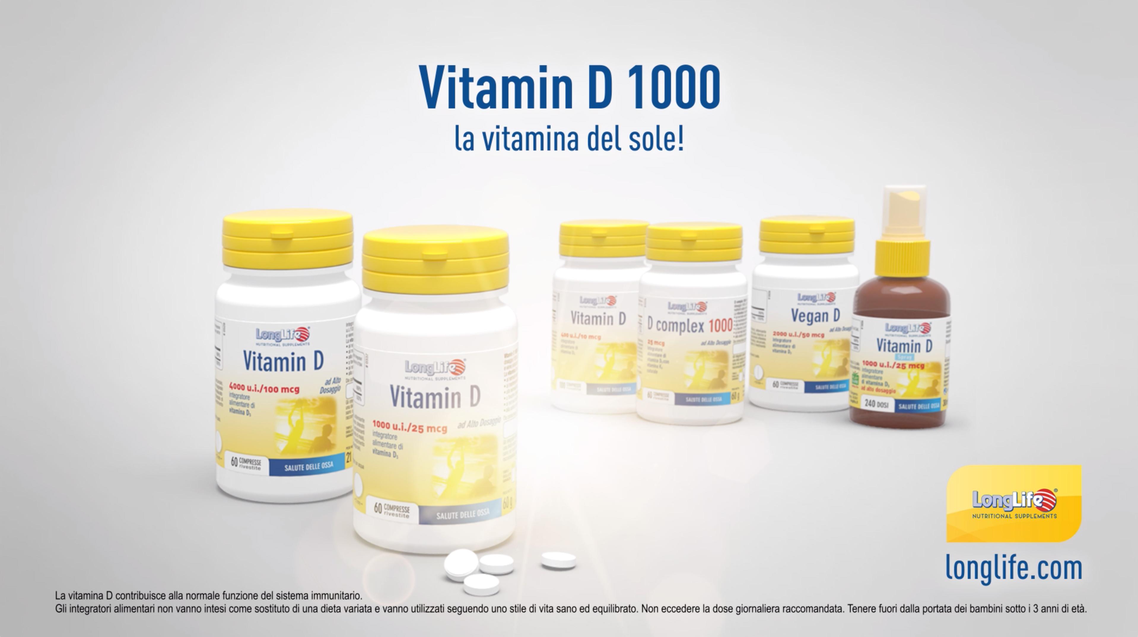 """Vitamin D 1000 - Spot 15"""" - 2020"""